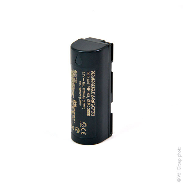 Camera battery 3,7V 1500mAh for Fujifilm FinePix 4900 Zoom