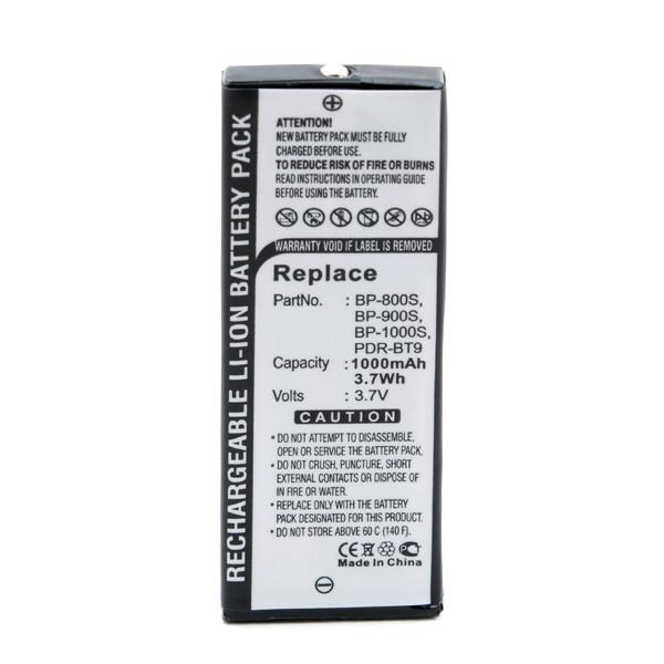 Camera battery 3,6V 1000mAh for Kyocera Yashica Finecam S3X