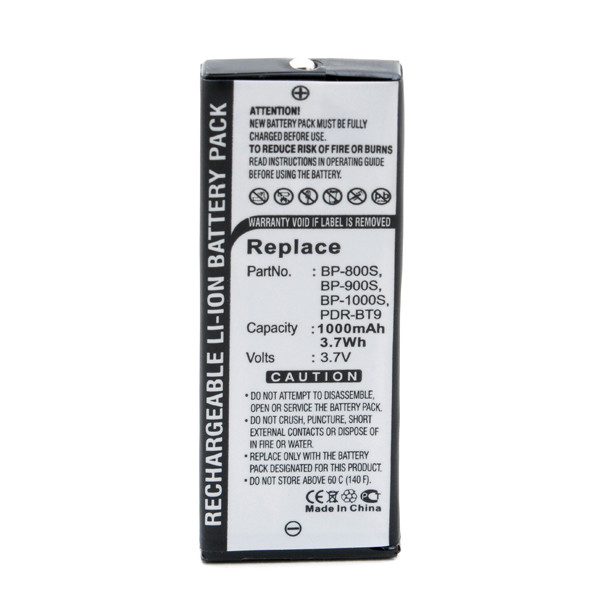 Camera battery 3,6V 1000mAh for Kyocera Yashica Finecam S3L