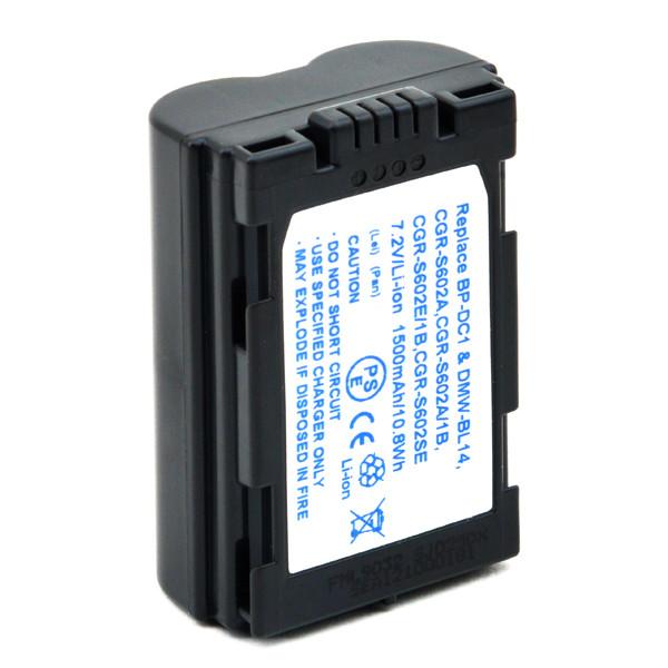 Camera battery 7,2V 1700mAh for Panasonic Lumix DMC-LC40S