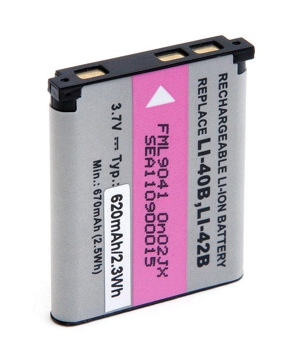 Camera battery 3,7V 620mAh for Kodak EasyShare M873 Zoom