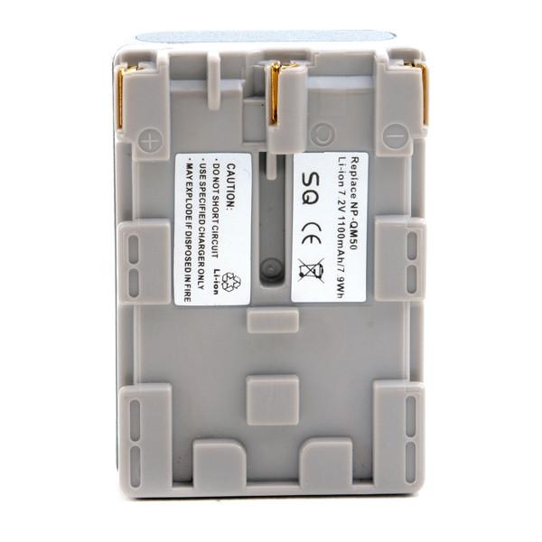 Camcorder battery 7,2V 1100mAh for Sony GV-D1000 (Video Walkman)