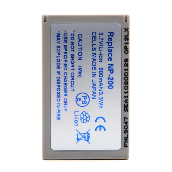 Camera battery 3,7V 750mAh for Konica Minolta Dimage Xt Biz
