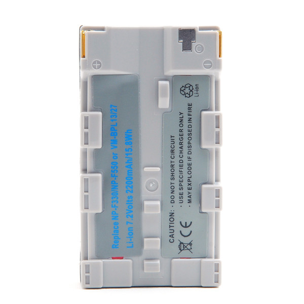 Camcorder battery 7,2V 2000mAh for Sony CRX10U (CD-RW)