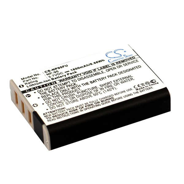 Camera battery 3,7V 1700mAh for Fujifilm FinePix X100