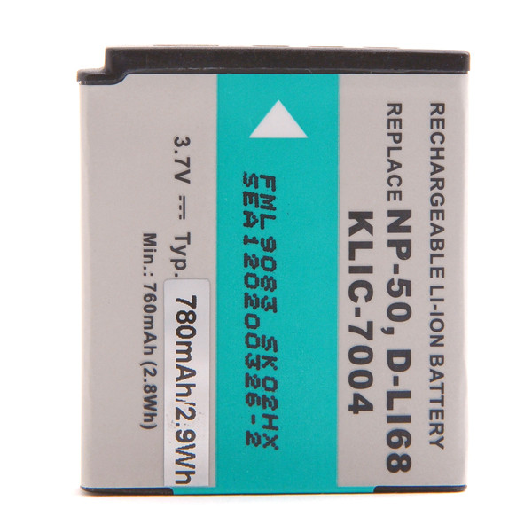 Camera battery 3,7V 750mAh for Fujifilm FinePix XP150