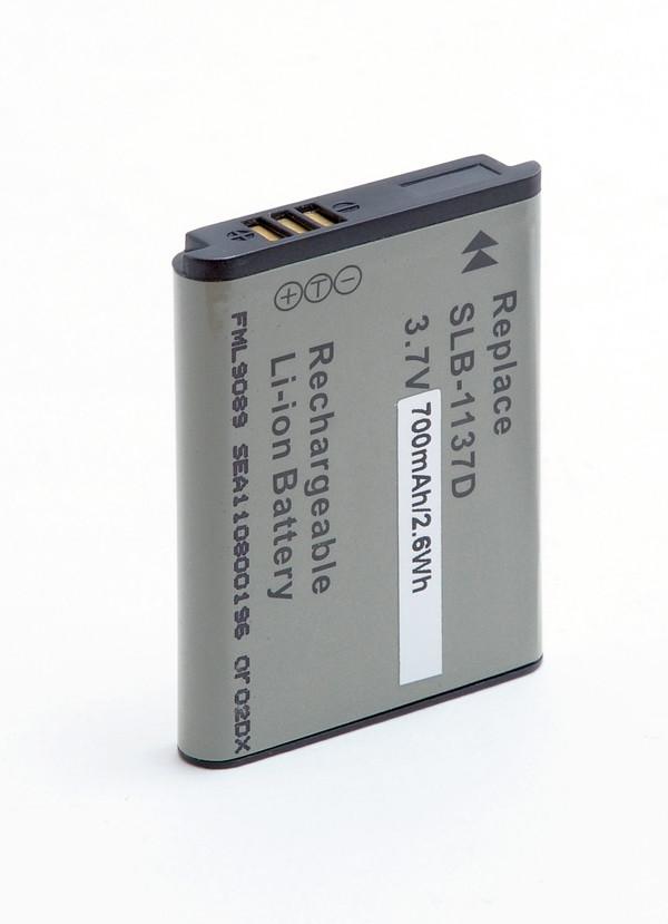 Camera battery 3,7V 700mAh for Samsung L74 Wide