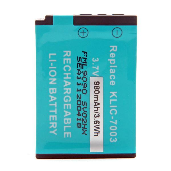 Camera battery 3,7V 980mAh for Kodak EasyShare M380