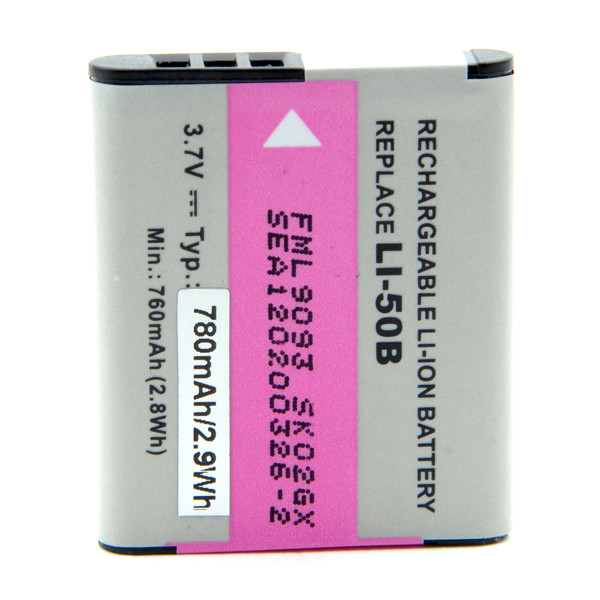 Camera battery 3,7V 770mAh for Olympus SZ-14
