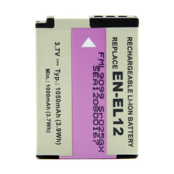 Camera battery 3,7V 1050mAh for Nikon Coolpix S800C