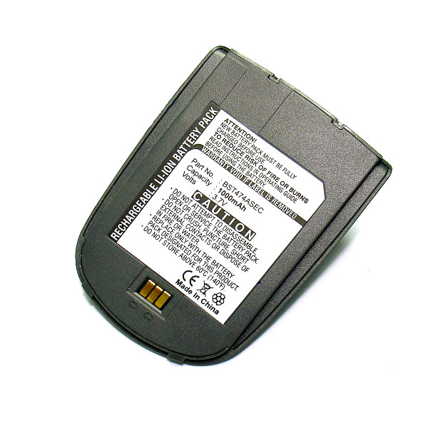Mobile phone, PDA battery 3,7V 1000mAh for Samsung SGH-ZV30