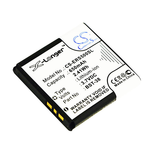 Mobile phone, PDA battery 3,7V 850mAh for Sony Ericsson R306C
