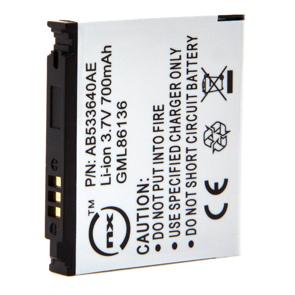 Mobile phone, PDA battery 3,7V 700mAh for Samsung GT-C3050C