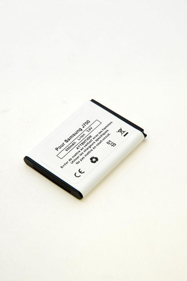 Mobile phone, PDA battery 3,7V 650mAh for Samsung SGH-J700