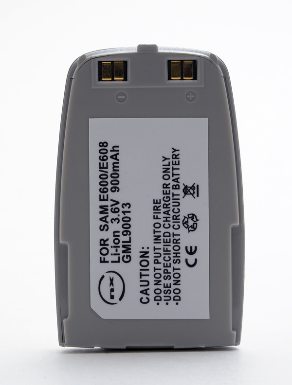 Mobile phone, PDA battery 3,7V 900mAh for Samsung SGH-E600