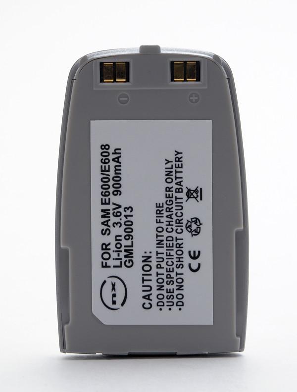 Mobile phone, PDA battery 3,7V 900mAh for Samsung SGH-E600