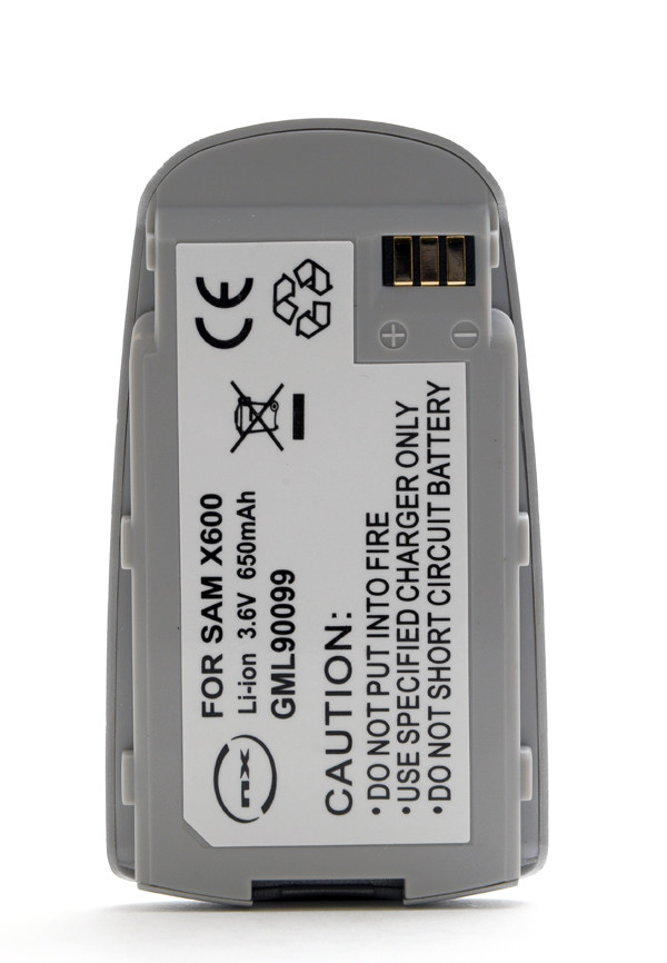 Mobile phone, PDA battery 3,6V 600mAh for Samsung SGH-X600