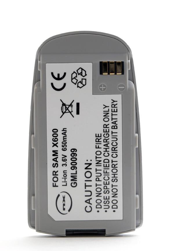 Mobile phone, PDA battery 3,6V 600mAh for Samsung SGH-X600