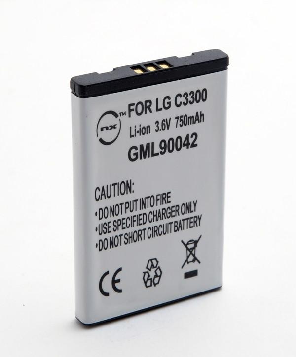 Mobile phone, PDA battery 3,7V 700mAh for LG C3300