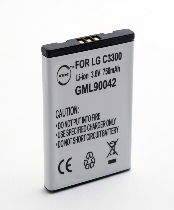 Mobile phone, PDA battery 3,7V 700mAh for LG L5100
