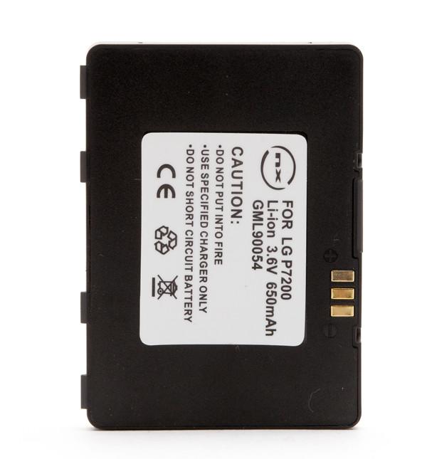 Mobile phone, PDA battery 3,7V 700mAh for LG P7200