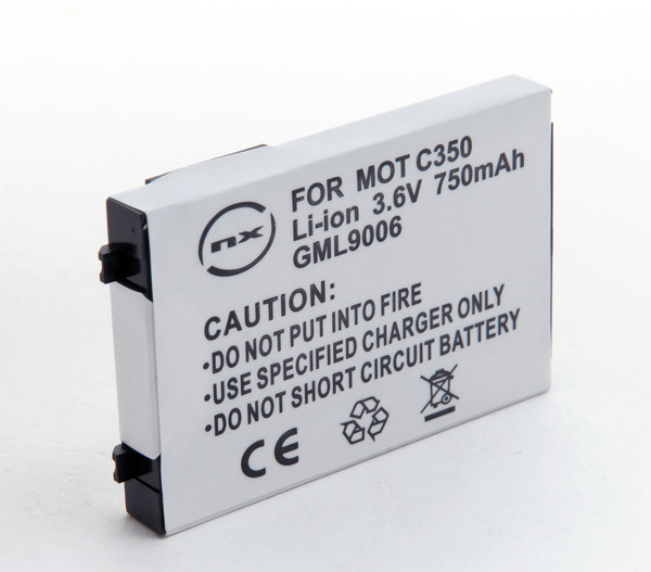 Mobile phone, PDA battery 3,7V 650mAh for Motorola C359
