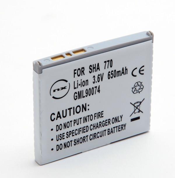 Mobile phone, PDA battery 3,7V 600mAh for Sharp V770SH