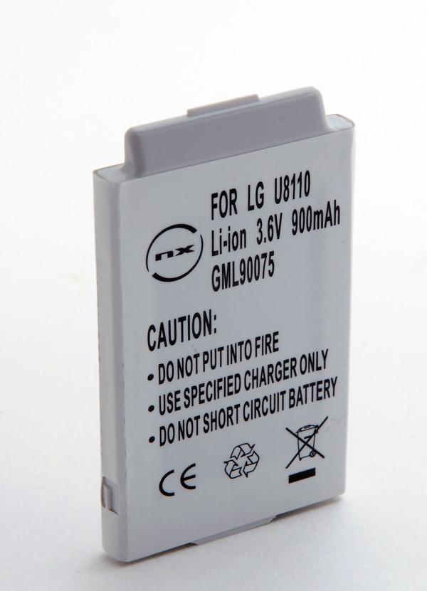 Mobile phone, PDA battery 3,7V 900mAh for LG U8290