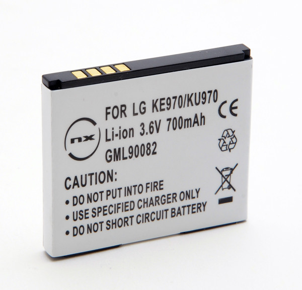 Mobile phone, PDA battery 3,7V 800mAh for LG KF750 Secret