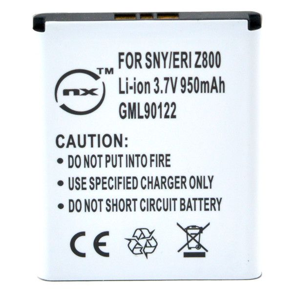 Mobile phone, PDA battery 3,7V 950mAh for Sony Ericsson W850i