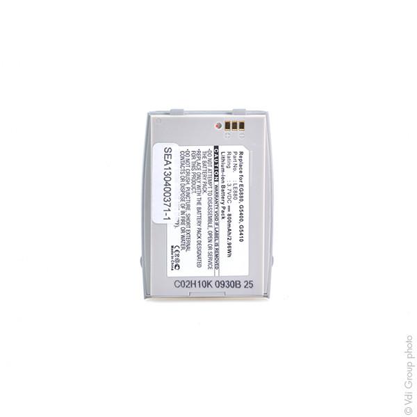 Mobile phone, PDA battery 3,7V 800mAh for LG G5400