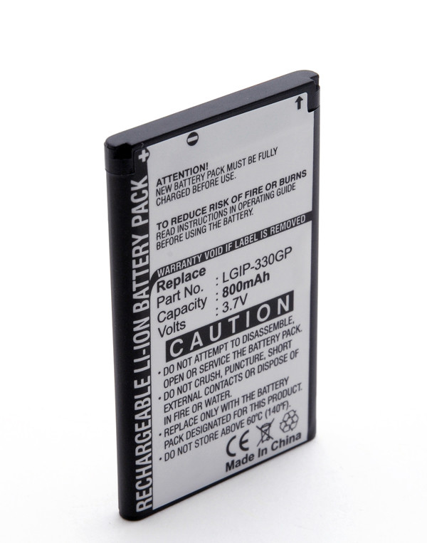 Mobile phone, PDA battery 3,7V 650mAh for LG KS360