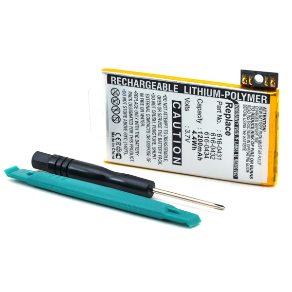 Mobile phone, PDA battery 3,7V 1200mAh for Apple iPhone 3GS 16GB