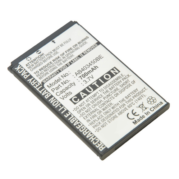 Mobile phone, PDA battery 3,7V 700mAh for Samsung SGH-F679