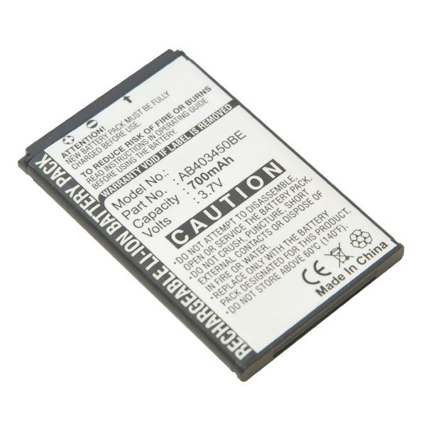 Mobile phone, PDA battery 3,7V 700mAh for Samsung GT-E2550