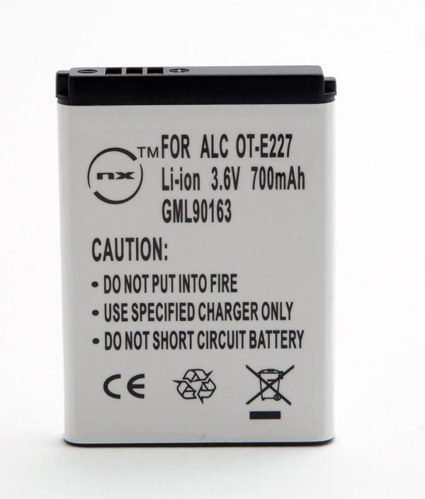 Mobile phone, PDA battery 3,7V 650mAh for Alcatel OT-E227C