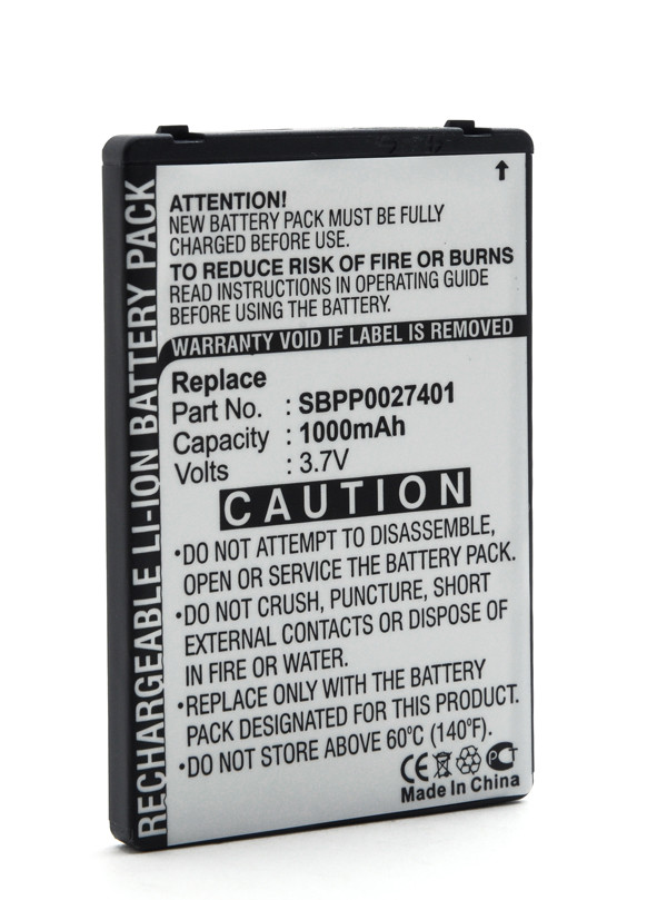 Mobile phone, PDA battery 3,7V 1000mAh for LG GT540