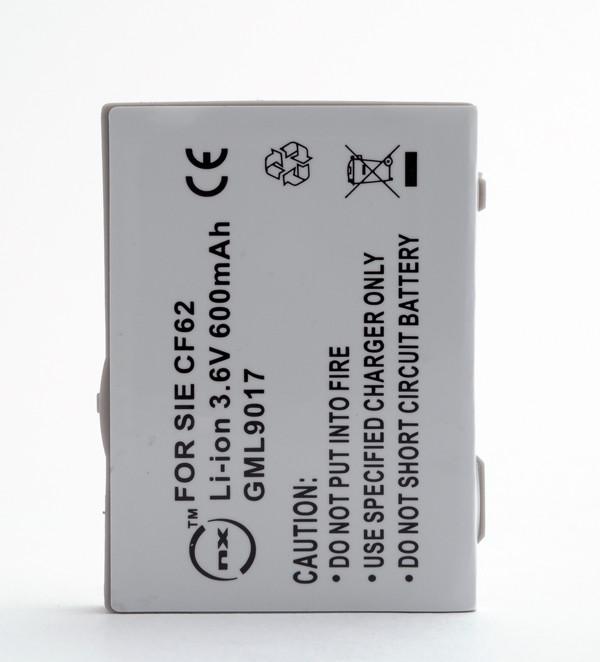 Mobile phone, PDA battery 3,7V 600mAh for Siemens CFX65