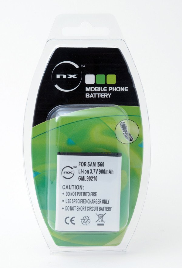 Mobile phone, PDA battery 3,7V 900mAh for Samsung SGH-i8510 INNOV8