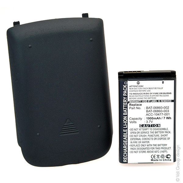 Mobile phone, PDA battery 3,7V 1900mAh for BlackBerry Curve 8520