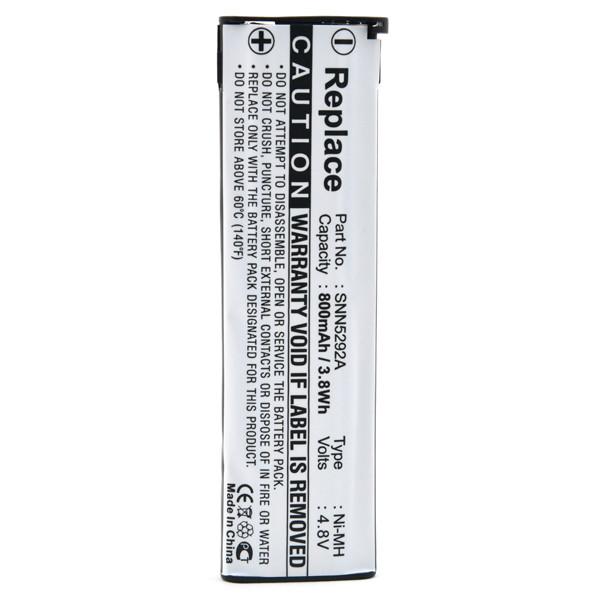 Mobile phone, PDA battery 4,8V 800mAh for Motorola D520e