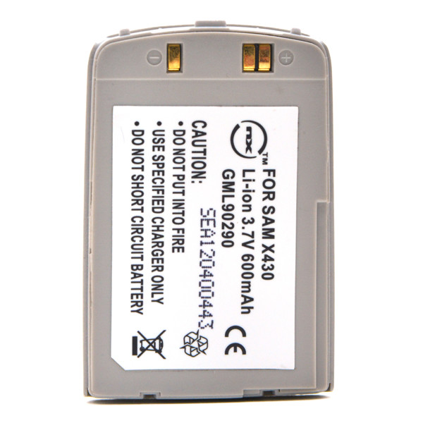 Mobile phone, PDA battery 3,7V 600mAh for Samsung SGH-X430