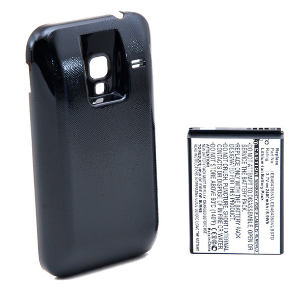 Mobile phone, PDA battery 3,7V 2400mAh for Samsung Galaxy Ace Plus