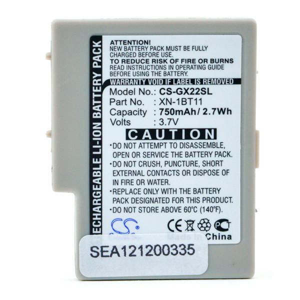 Mobile phone, PDA battery 3,7V 750mAh for Sharp GX10i