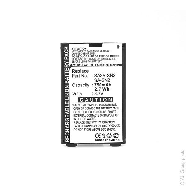 Mobile phone, PDA battery 3,7V 750mAh for Sagem MYX3-2