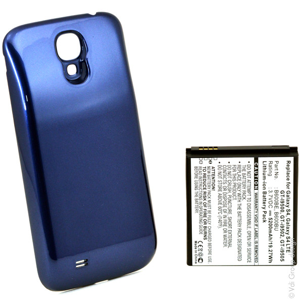 Mobile phone, PDA battery 3,7V 5200mAh for Samsung GT-I9505