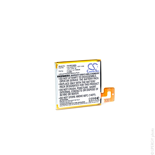 Mobile phone, PDA battery 3,7V 1780mAh for Sony Ericsson Xperia T LT30p