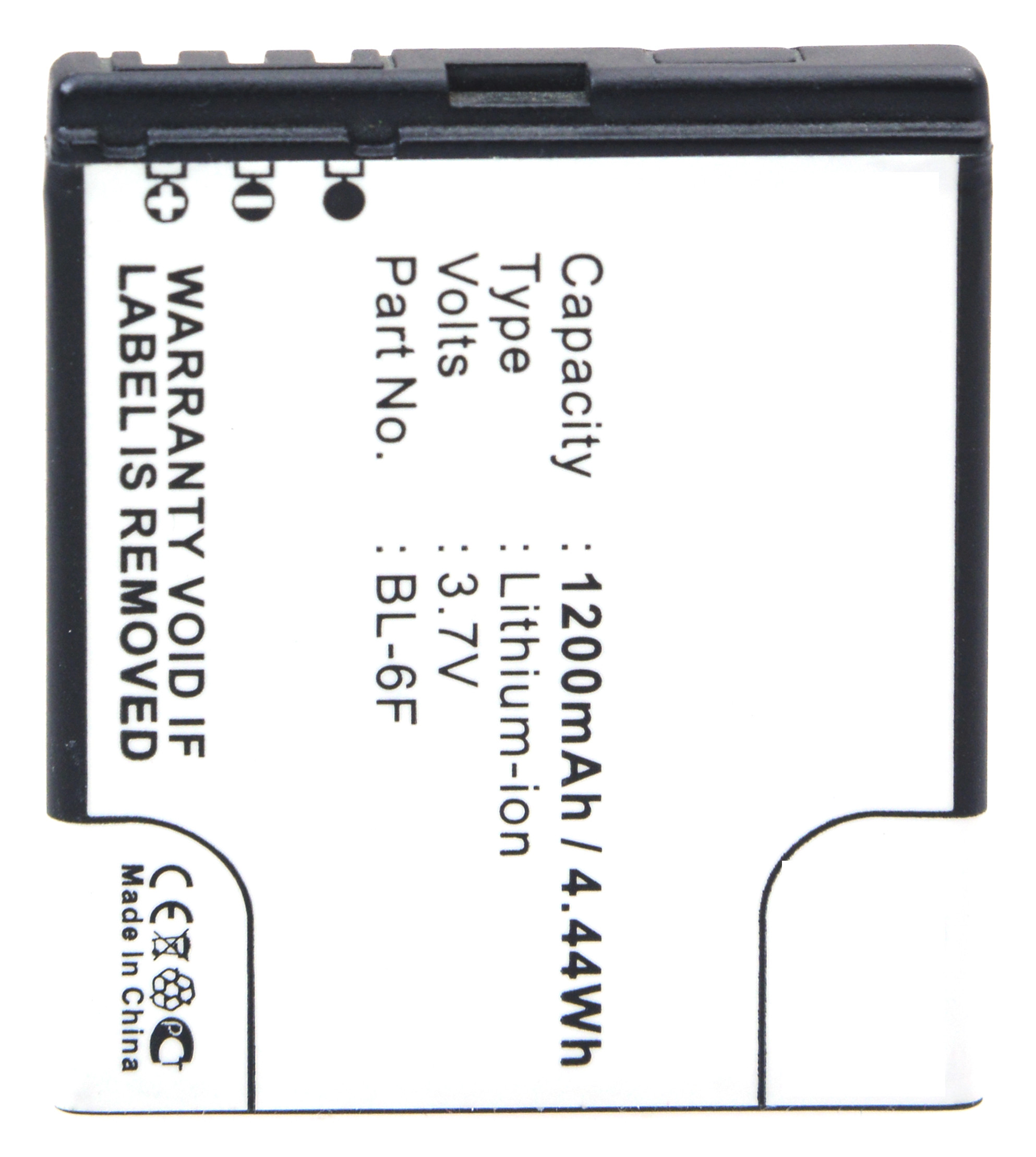 Mobile phone, PDA battery 3,7V 1200mAh for Nokia N95 8GB