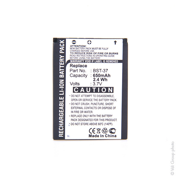 Mobile phone, PDA battery 3,7V 800mAh for Sony Ericsson J120i