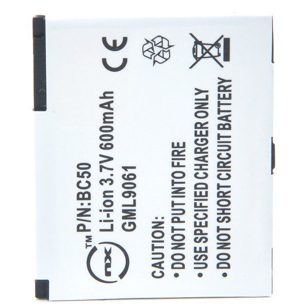 Mobile phone, PDA battery 3,7V 600mAh for Motorola L2 SLVR